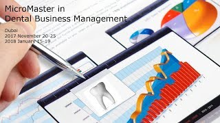 MicroMaster in Dental Business Management