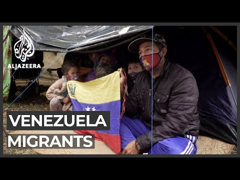 Venezuelan migrants stranded after border with Colombia closed