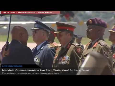 Mandela Commemoration live from Waterkloof Airforce Base