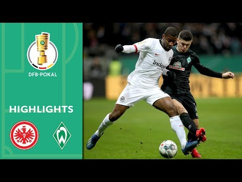 Eintracht  Frankfurt Werder Bremen Goals And Highlights