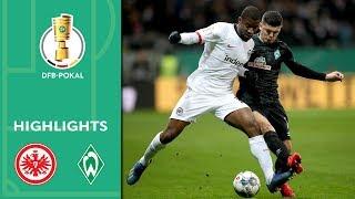 Enjoy the highlights of eintracht frankfurt vs. werder bremen from quarter finals dfb-pokal 2019/20.goals: 1-0 silva (45+6', pen.), 2-0 kamada (60...