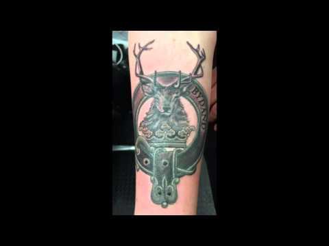 Gordon Clan Crest Tattoo.