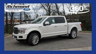 2018 Ford F-150 Limited 360 Degree Virtual Test Drive