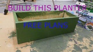 Planter 2.0 **free Plans**