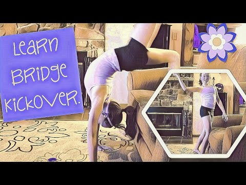 Bridge Kickover 1,2,3 Easy |Beginner At Home