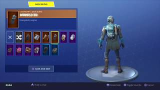 Fortnite: Battle Royale - New Back Bling - Offworld Rig (The Visitor) On 19 different skins