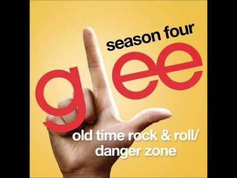 Glee - Old Time Rock & Roll/Danger Zone (DOWNLOAD MP3 + LYRICS)