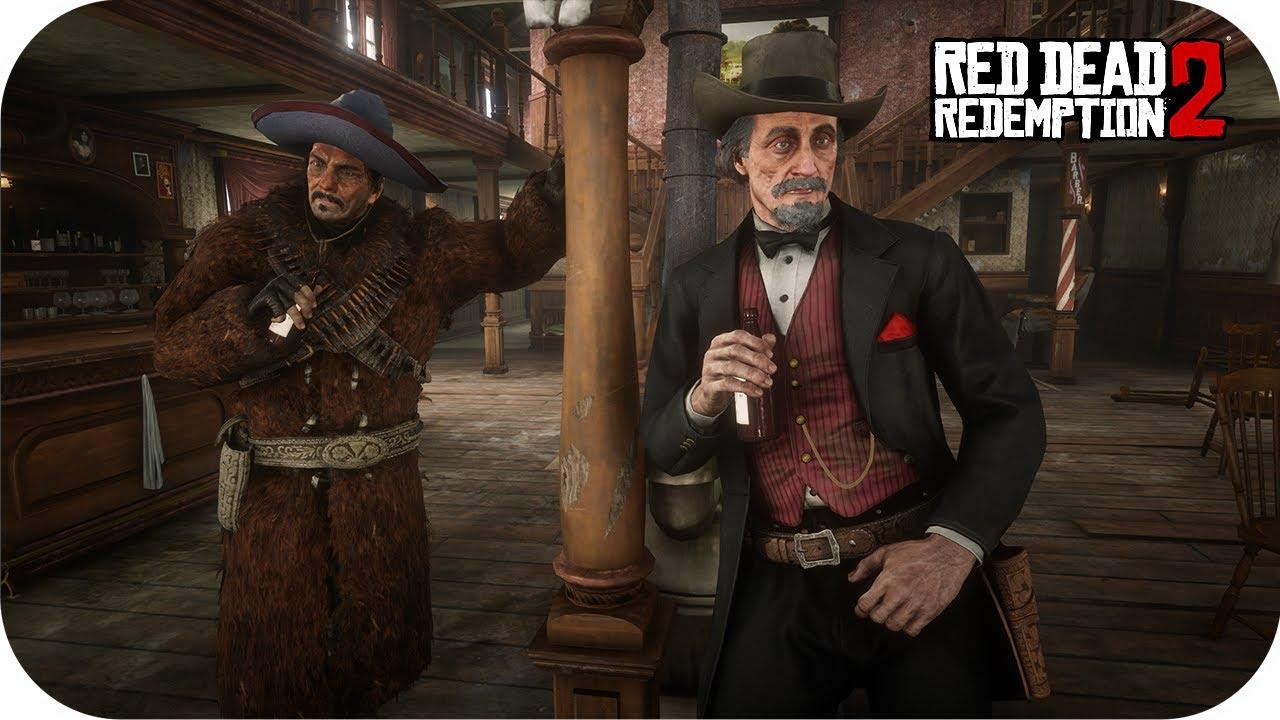 Download Famous Gunslingers Duel Mod Red Dead Redemption 2 NPC Fights