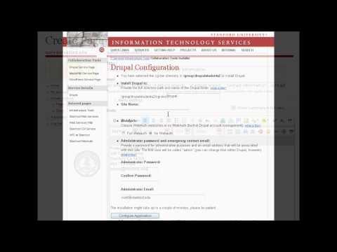 Stanford Drupal Ad