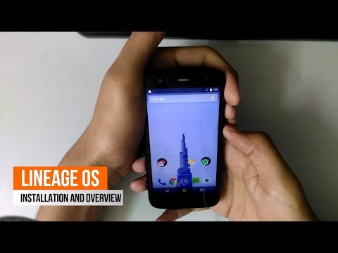 How to install Lineage OS 14.1 on Moto G 1st generation