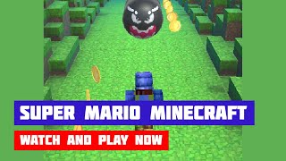 Super Mario Minecraft Runner · Game · Gameplay