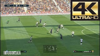 PES 2019 4K 60 FPS Amazing Realism LIVE Broadcast Camera PSG vs Juventus