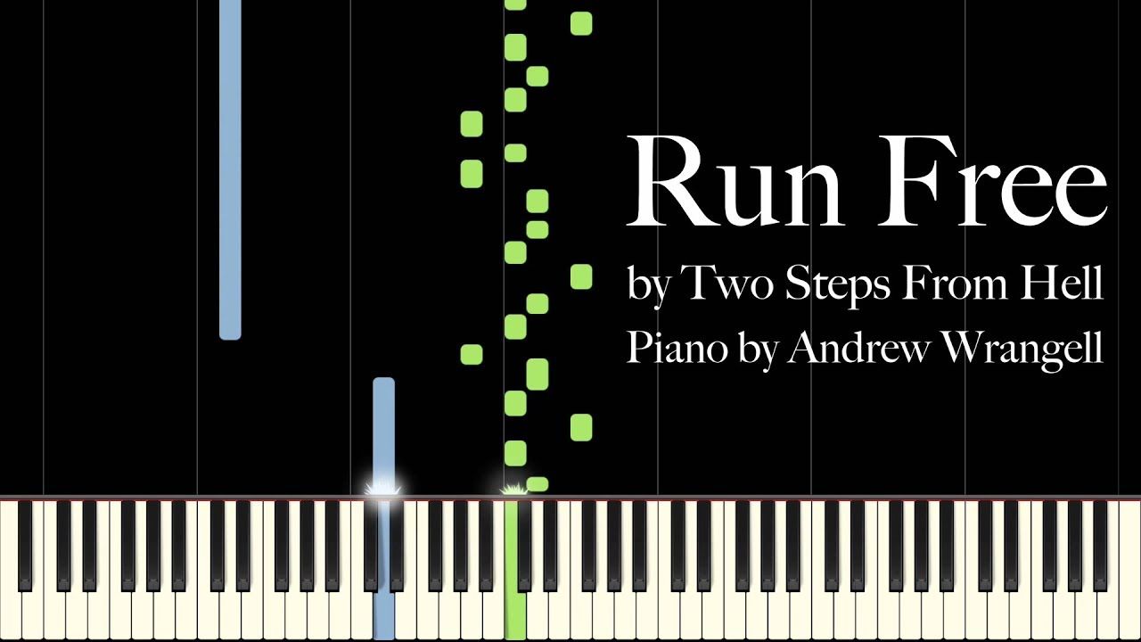 Run Free by Two Steps From Hell (Piano Tutorial)