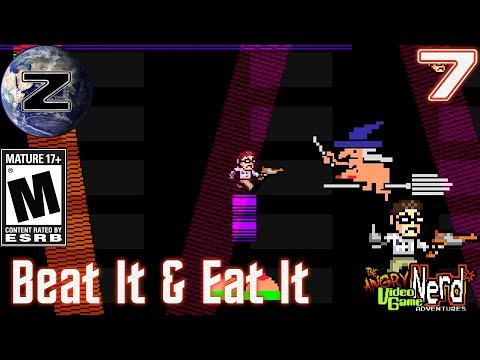 Beat It & Eat It! - Angry Video Game Nerd Adventures Gameplay 2018! EP 7