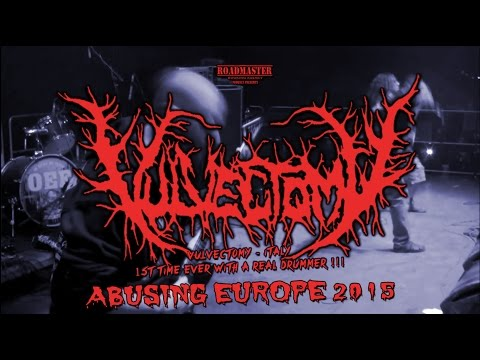 VULVECTOMY + IN TORMENT + BLOODY VIOLENCE Eurotour 2015
