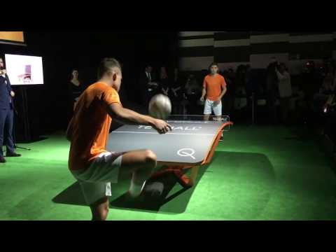 Teqball: a new sport invented in Hungary
