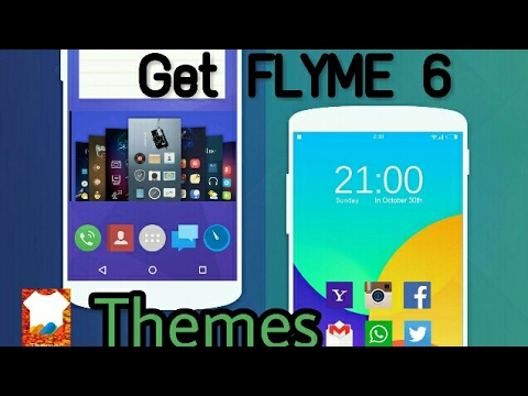 How to Download themes on Flyme OS 6 Global version🌎