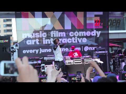 JOEY BADA$$ DEBUTS NEW SONG AT NXNE IN TORONTO | 2013