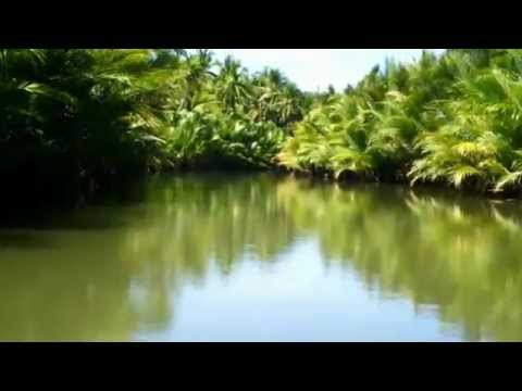 A view of the Sabang-Vito River, Hinundayan, Southern Leyte, Philippines