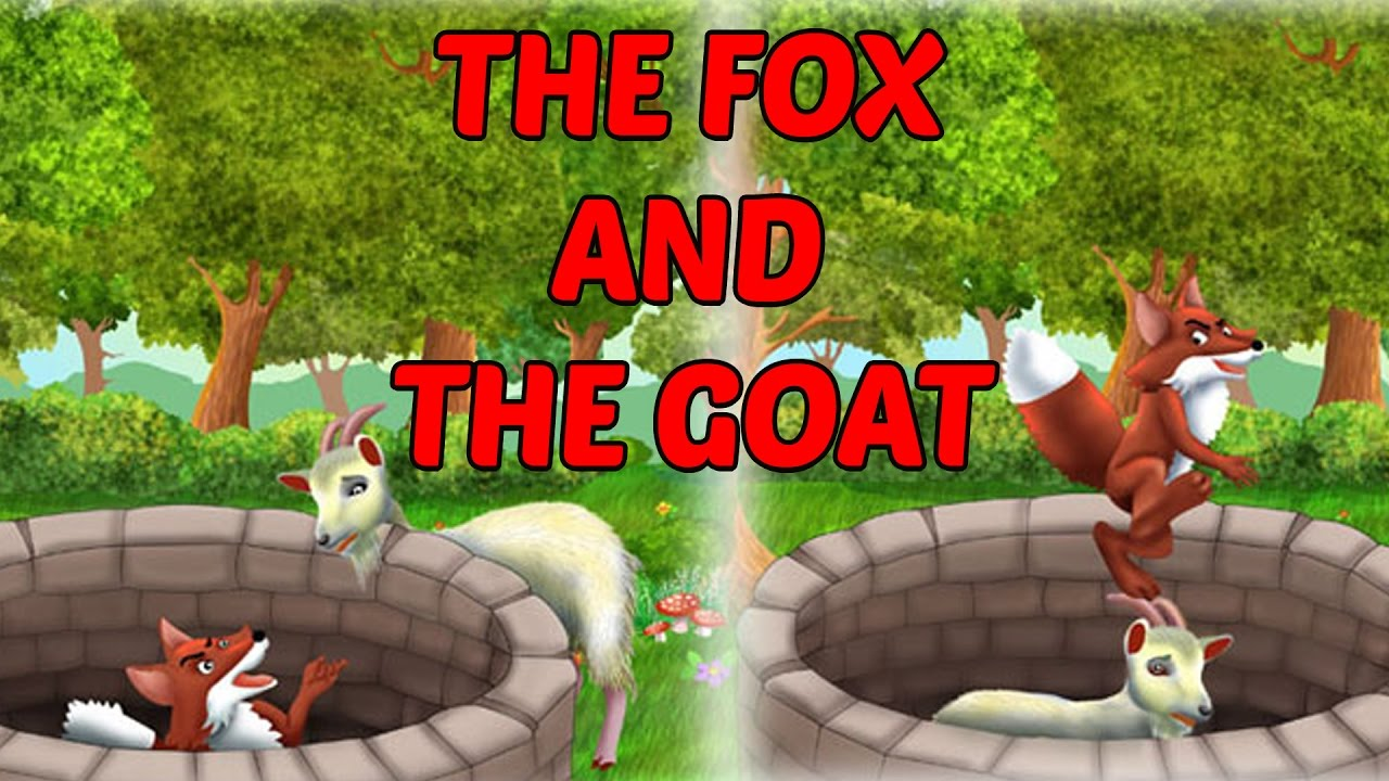The Fox And The Goat - Moral Stories For Kids In English - Foolish Goat