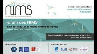 [Live] Forum des NIMS 2018 au Théâtre National de Toulouse - Matin