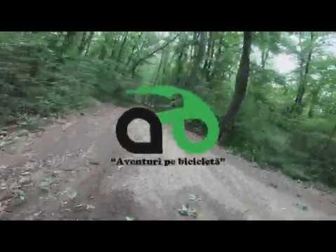 Aventuri pe bicicleta : La vale .. cu drona