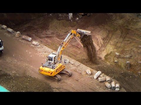 Stuttgart 21 Baugrube wird wieder verfüllt | 15.03.17 | #S21