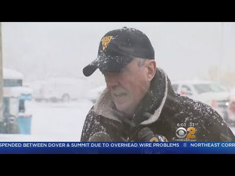New Jersey Sees Some Of The Area's Highest Snow Totals