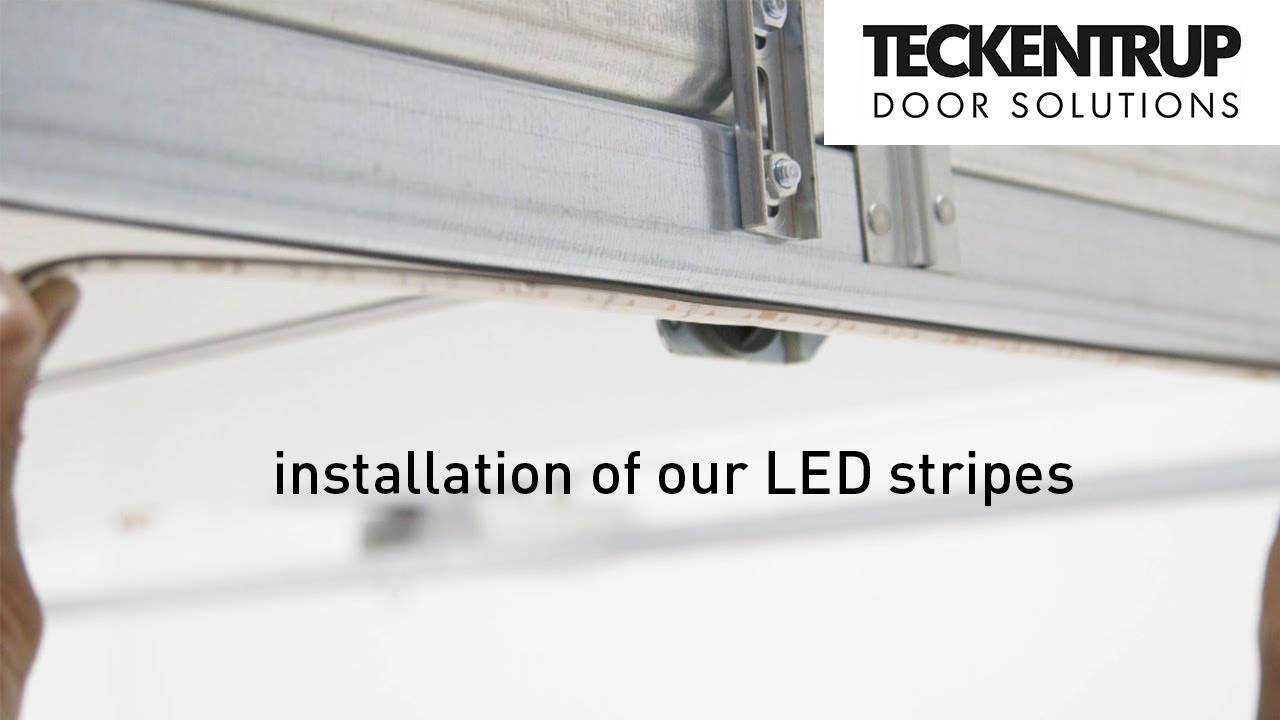 Teckentrup Led Stripes How To Install The Garage Lighting