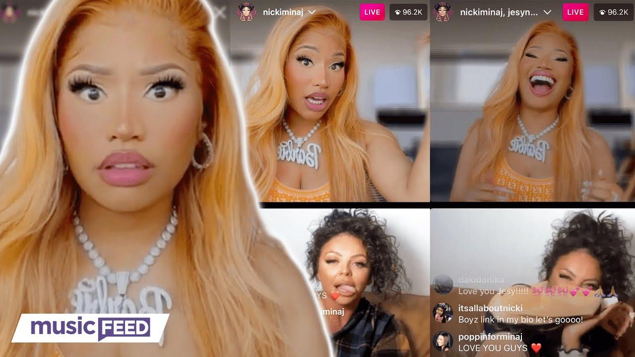 Download Nicki Minaj SLAMMED For Not Supporting POC In Jesy Nelson's IG Live