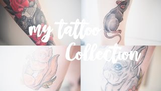 My Tattoo Collection | Experience, Pain, Meaning | Portia Legge