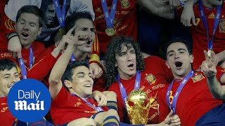 Take a look at Spain's prospects for the World Cup