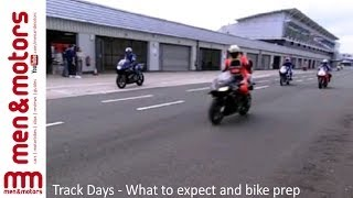 Track Days - What to expect and bike prep