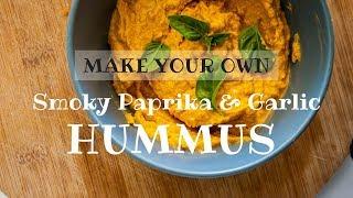 MAKE YOUR OWN: Smoky Paprika & Garlic Hummus