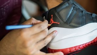 Restorations with Vick - Custom Air Jordan 11