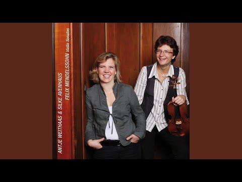 Violin Sonata in F Major: I. Allegro vivace