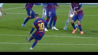 MESSI desata la LOCURA en la NARRACIÓN con sus 2 goles de falta en COPE