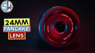 Canon 24mm pancake lens for macro photography?