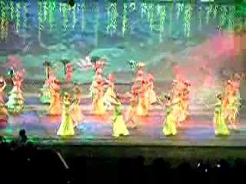Chinese Flower Dancers