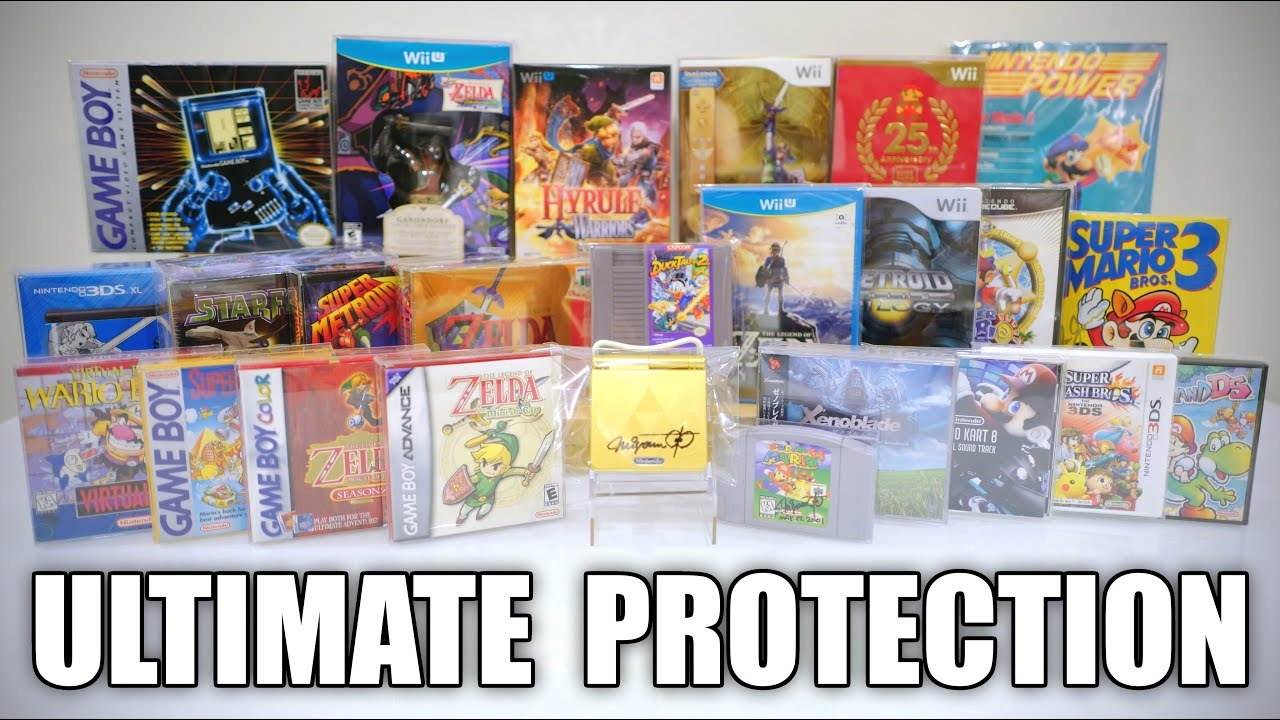 Download ULTIMATE PROTECTION for Nintendo Game Collection [NintendoCade RETRO]