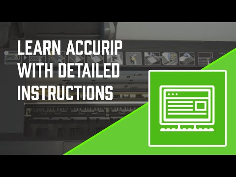 How to Screen Print - Detailed instruction AccuRip - Screen Printing 101 DVD pt 8