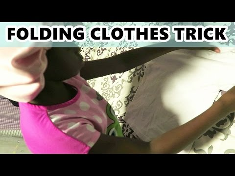 how-to-fold-a-shirt-trick-:-teaching-kids-|-october-5th-2016-|-dnvlogslife