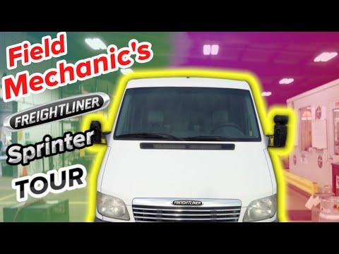 Mobile Mechanic Truck Setup, Mobile Service Van Tour
