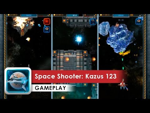 Space Shooter: Kazus 123 Gameplay HD (Android) Indie Galaxy