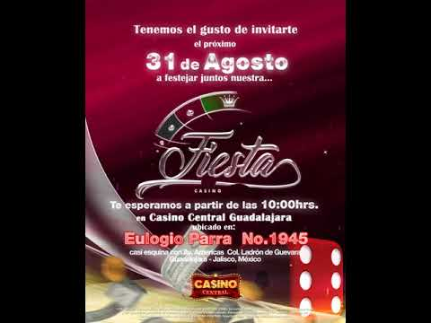 Casino Central GUADALAJARA   Invitacion  AGO2017