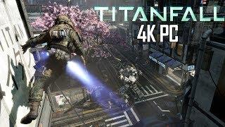 Titanfall 4K PC Gameplay - Hardpoint on Angel City