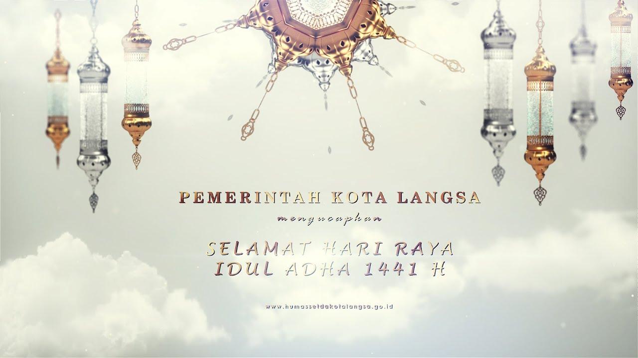 Greeting Idul Adha 1441 H Sekda Kota Langsa Youtube
