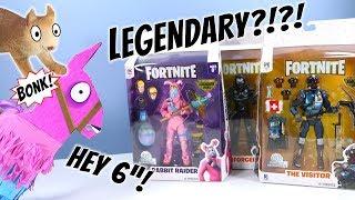 "Fortnite Toys Legendary 6"" Action Figures Series 1 Jazwares Surprise Crate"