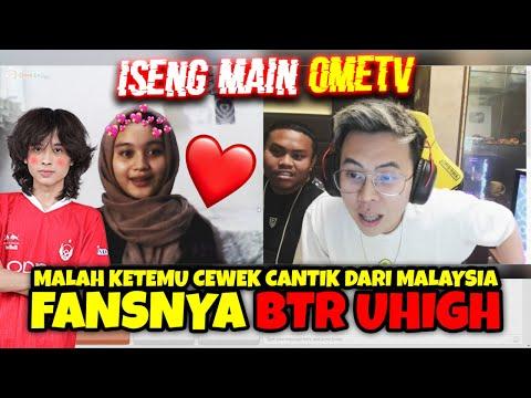 "ISENG MAIN OMETV MALAH KETEMU CEWEK CANTIK FANS ""BTR uHigh"" ASLI LUCU BGT !!! - OME TV INDONESIA"