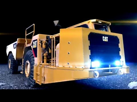 Up Close With The Cat® AD22 Underground Articulated Truck